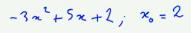 1ère S formules somme et produit des deux racines polynôme second degré