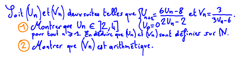 Terminale S Suite arithmétique