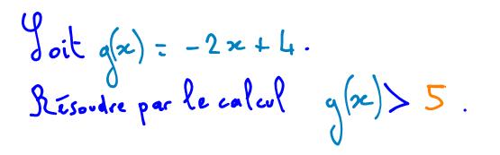 Calcul normalement simple 2nde Mathématiques