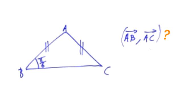 angle orienté triangle isocèle
